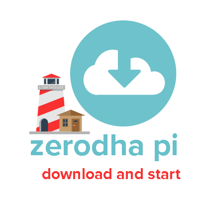How to download Zerodha Pi trading software for Indian Stock Market