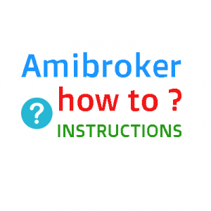 How to define Scanner time-frame in Amibroker ?