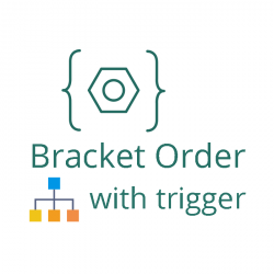 bracket order with trigger price