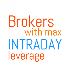 maximum intraday leverage discount brokers